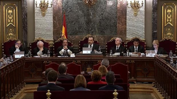 El tribunal del 'procés' rechazó el pasado miércoles por unanimidad el indulto a los presos