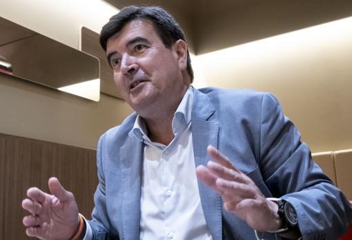 File image of the spokesperson for Ciudadanos in Valencia, Fernando Giner