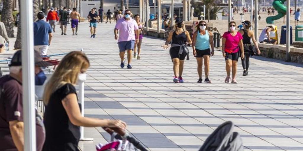 Más de 400.000 valencianos han superado el coronavirus en una región con 14 enfermos en la UCI