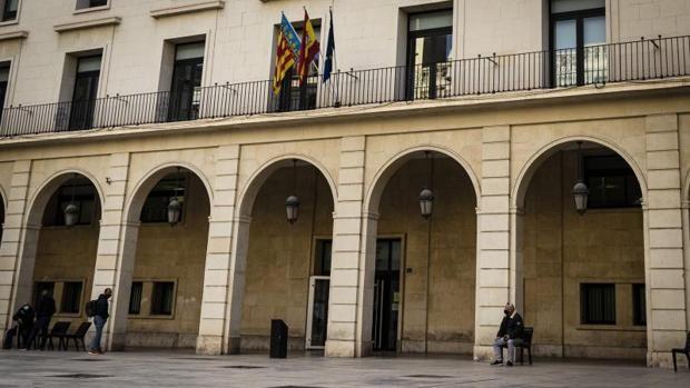 Fachada de la Audiencia Provincial de Alicante