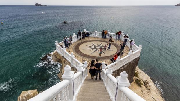 Imagen del balcón del Mediterráneo en Benidorm