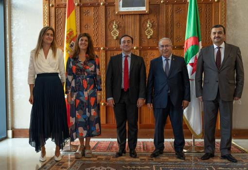 Visit of Minister Albares to Algiers