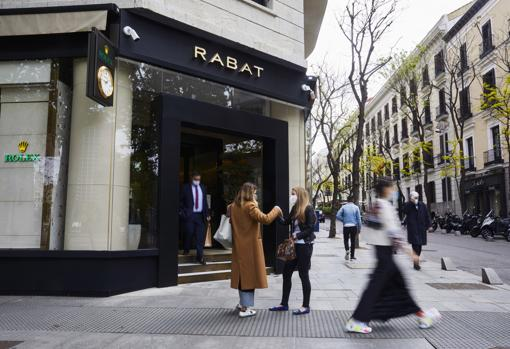 Commercial premises of a luxury brand, in Madrid's 'golden mile'
