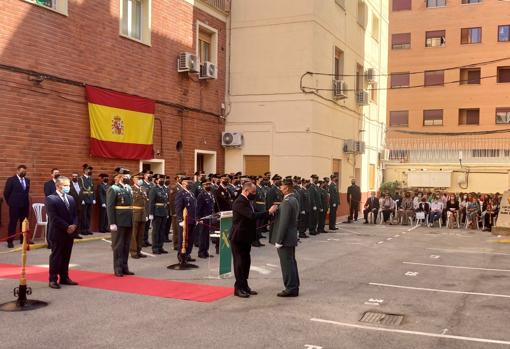 Mayor Emilio Sáez has presided over the event that was held in Albacete