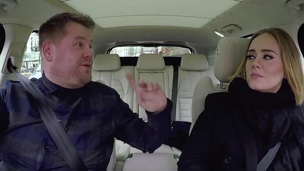 Captura de un momento del programa en el interior del coche