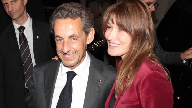 Nicolas Sarjkozy y Carla Bruni