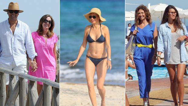Las reinas de la televisión disfrutando de sus vacaciones