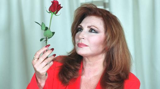 La cantante Rocío Jurado en 2003