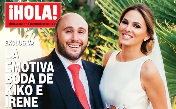 Foto de la portada de la revista ¡Hola!