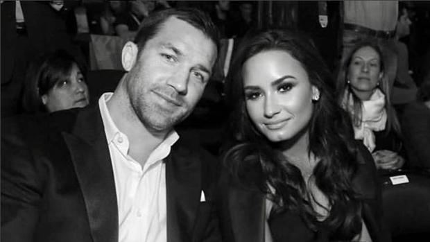 Demi Lovato et son petit ami Luke Rockhold