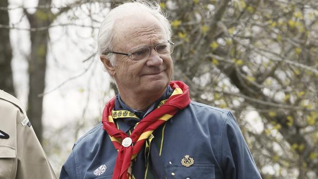 El Rey Carlos XVI Gustavo de Suecia preside la Fundación Scout Mundial