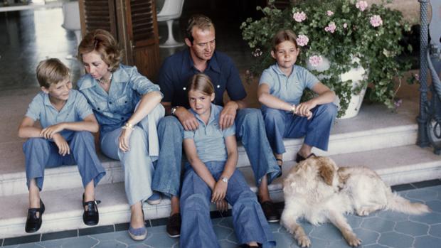 La Familia Real en Marivent