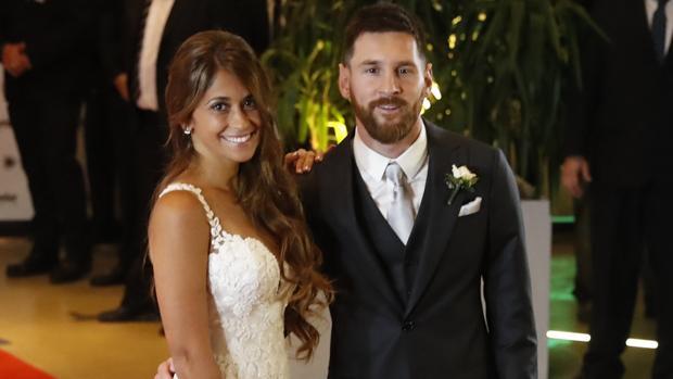 La pareja argentina ha dado «el sí» tras diez años de relación
