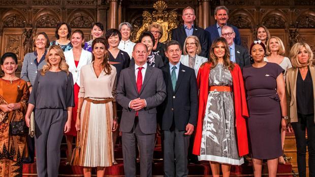 Las «parejas del poder» reunidas en la cumbre de líderes mundiales