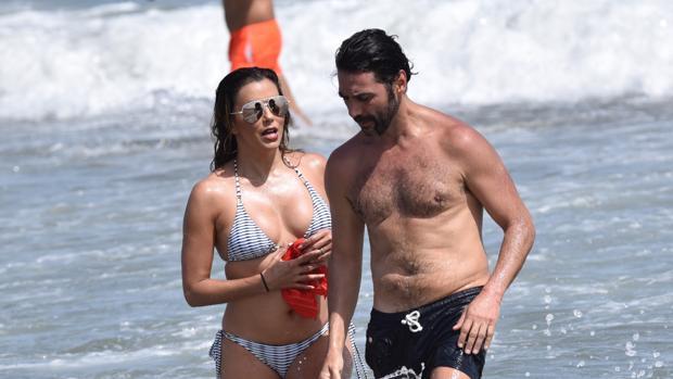 Eva Longoria y su marido, José Antonio Bastón