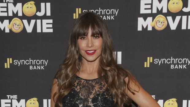 Sofía Vergara en la premiere de «Emoji: la película»