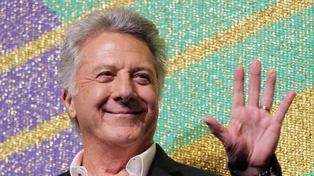 Una fotografía de archivo muestra al actor y director estadounidense Dustin Hoffman en el lanzamiento de su película Quartet el 8 de abril de 2013 en Tokio