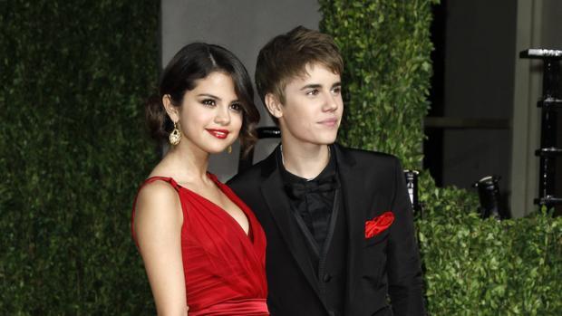 Selena Gómez y Justin Bieber en 2011