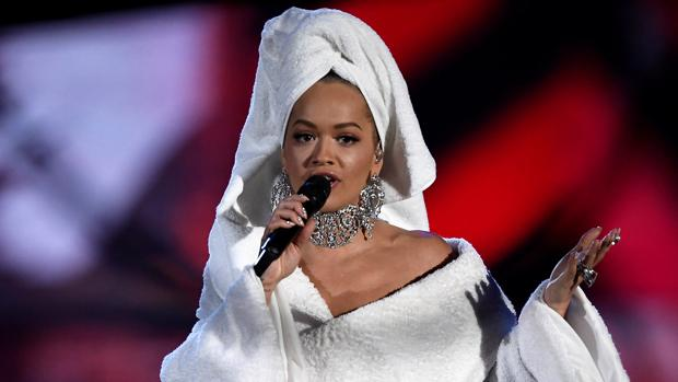 La cantante Rita Ora