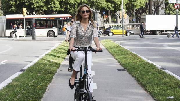 Veronica Blume recorriendo Barcelona