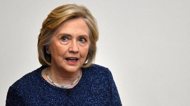 Hillary Clinton en Oxford a principios de mes