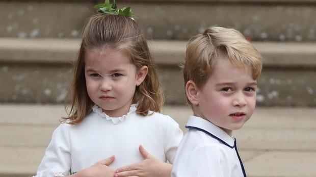 El Príncipe Jorge y su hermano