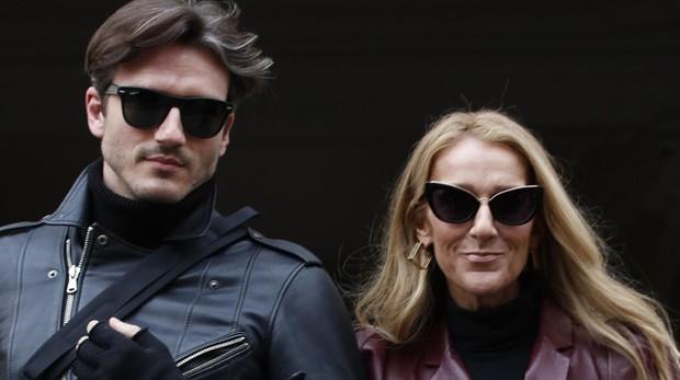 Celine Dion junto a Pepe Muñoz