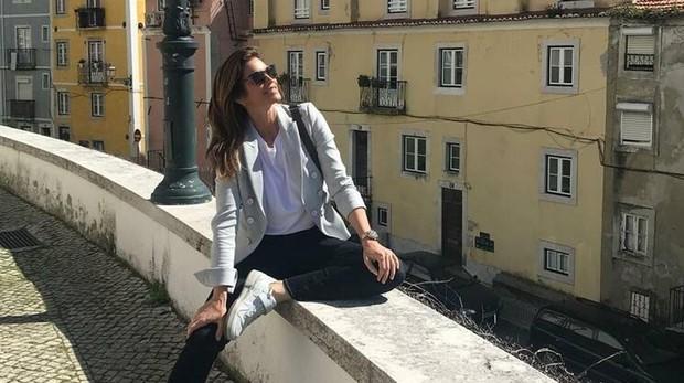 Cindy Crawford en Lisboa