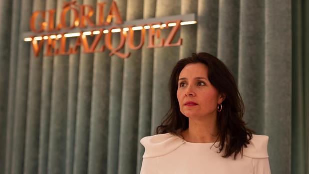 La diseñadora Gloria Velázquez