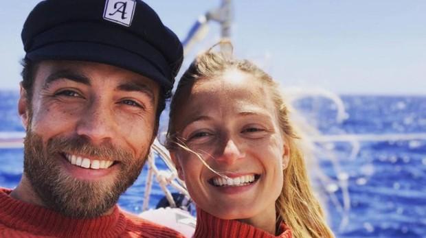 James Middleton y su nueva novia Alizee Thevenet