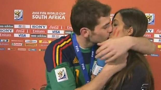 El famoso vídeo de Íker Casillas y Sara Carbonero