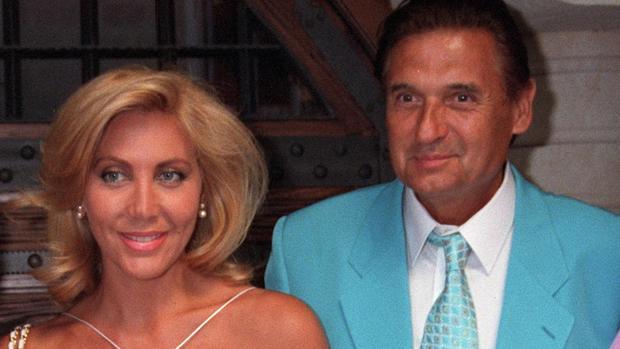 Norma Duval junto a su exmarido Marc Ostarcevic