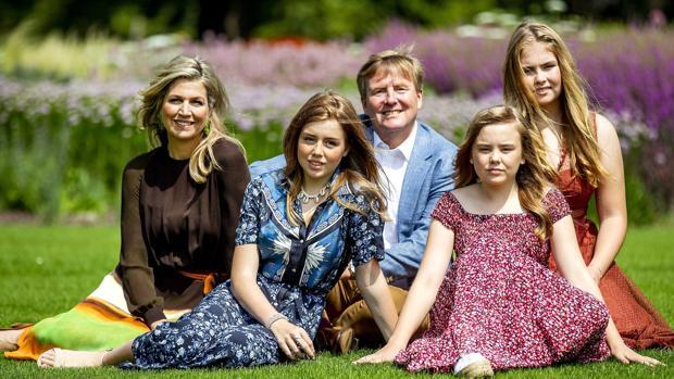 La Familia Real de Holanda