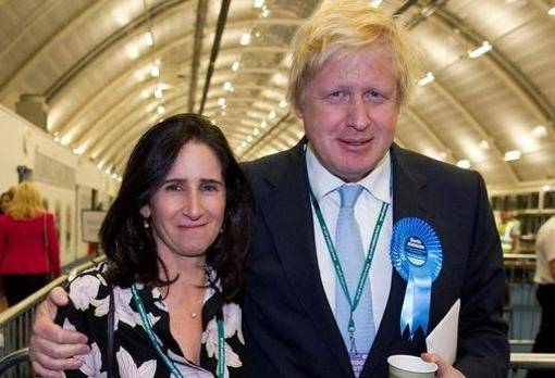 Marina Wheeler y Boris Johnson