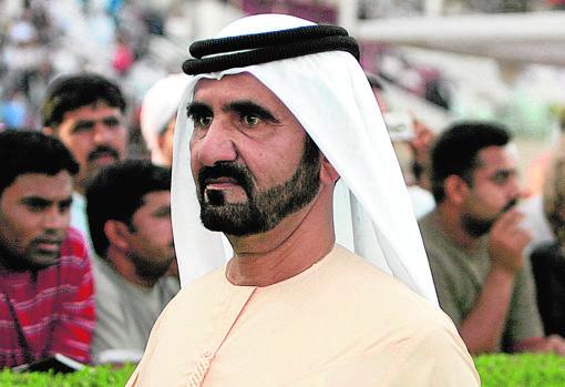 El jeque de Dubái, Mohamed bin Rashid