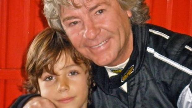 Hugo Nieto y su padre Ángel