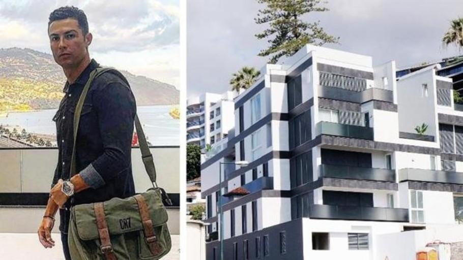 Cristiano Ronaldo amplía su imperio inmobiliario con la compra de un edificio de siete plantas en Funchal