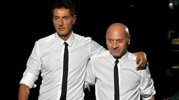 Domenico Dolce, de 61 años, y Stefano Gabbana, de 57