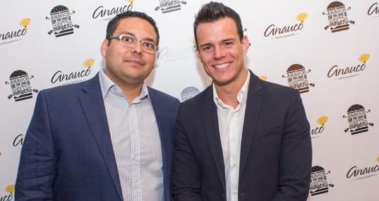 Javier Cruz y su socio Ali Rodríguez