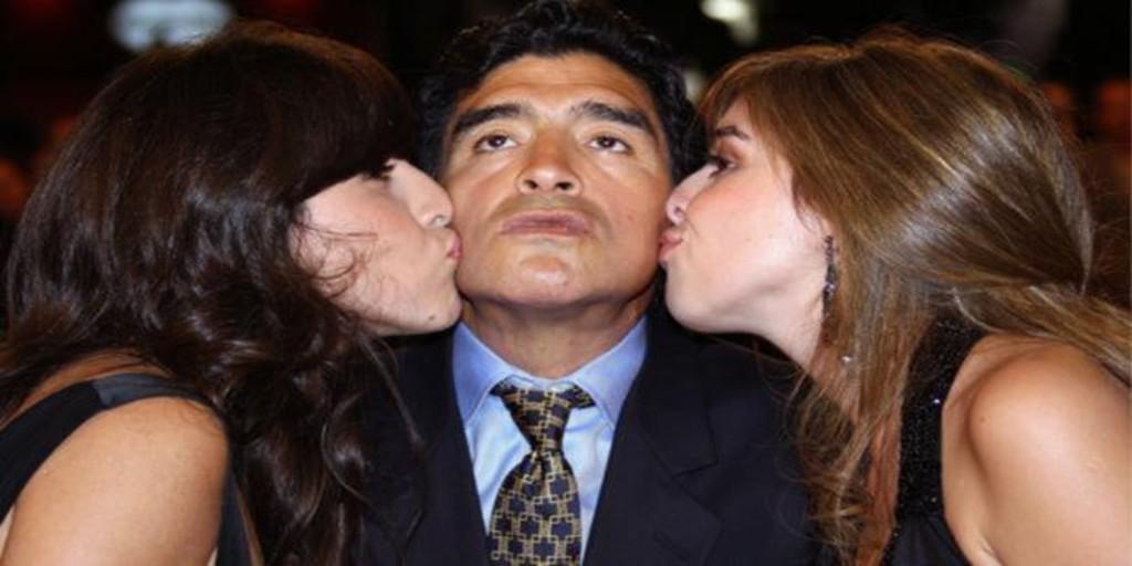 ¿Cuántos hijos tuvo Maradona?