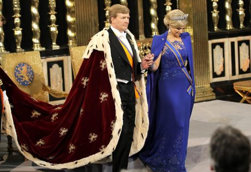 Kings William Alexander and Maxima of the Netherlands