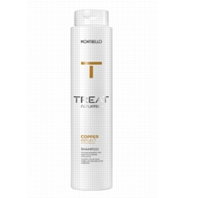 Copper Reflect Shampoo from Montibello's Treat Naturtech line, ideal for taking care of copper hair.