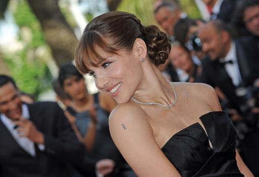Elsa Pataky during the Cannes Film Festival in 2009