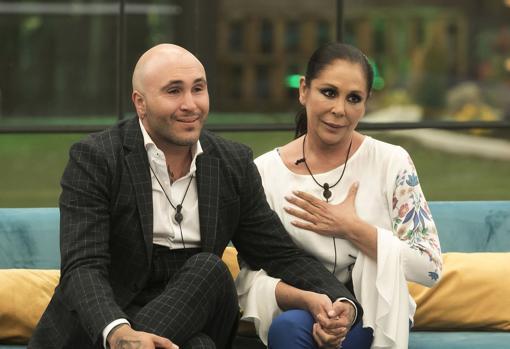 Kiko Rivera and Isabel Pantoja