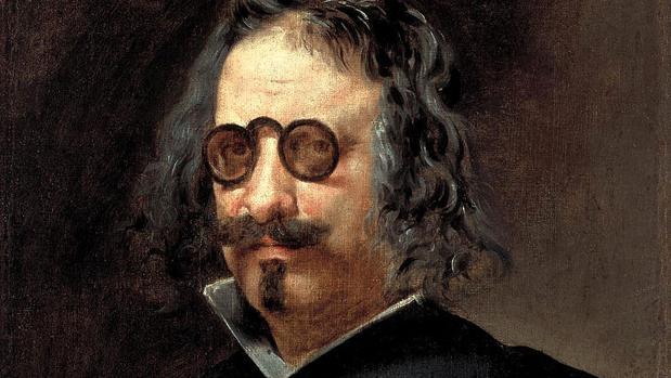 Retrato del célebre poeta y escritor español Francisco de Quevedo y Villegas