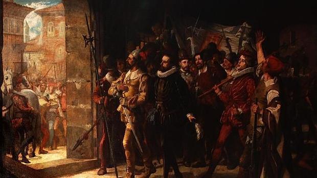 Antonio Pérez liberado por aragoneses de la prisión en 1591