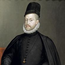 Retrato de Felipe II, por Sofonisba