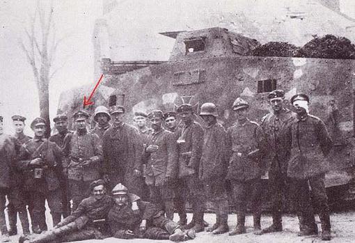 Volckheim, durante la Primera Guerra Mundial
