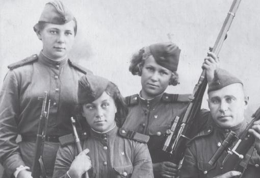 Francotiradoras soviéticas
