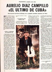 Entrevista a Aurelio Díaz Campillo en 1977